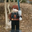 Stock Photo: CARLSBAD, US, FEB 6: Star Wars Anakin Skywalker Minifigure made