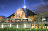 LAS VEGAS - FEB 3: The Luxor hotel and casino on February 3, 201 — Stock fotografie