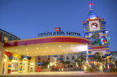CARLSBAD, US, FEB 5: Legoland hotel in Carlsbad, California on F — Stock Photo