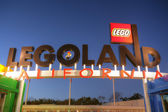 CARLSBAD, CA, FEB 5: Legoland in sunset, February 5, 2014, is a  — Stock Photo
