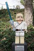 CARLSBAD, US, FEB 6: Star Wars Luke Skywalker Minifigure made wi — Stock Photo