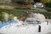 CARLSBAD, US, FEB 6: Star Wars Miniland at Legoland in Carlsbad, — Stock Photo