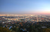 Los Angeles at sunset — Stock Photo