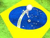 Concept for Brazil 2014 football championship.  — Stock Photo
