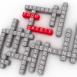 3d Food Safety Word Cloud Concept — Stock Photo #46632067