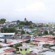 Постер, плакат: Aerial view of shanty towns in Panama City Panama