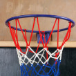 A toy basketball goal — Stock Photo