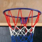 A toy basketball goal — Stock Photo