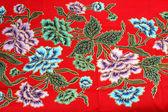 Indonesian fabric design details — Stock Photo