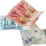 Malaysia ringgit bills — Stock Photo #13253832