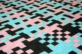Pattern rubber matting — Stock Photo