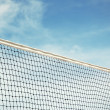 Постер, плакат: Beach volleyball net