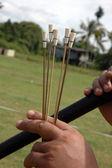 Borneo tribal weapont — Stock Photo