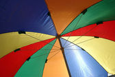 Tende ombrelloni colorati — Foto Stock