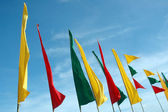 Flags banners — Stock Photo