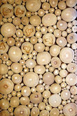 Pattern of the wood pieces — Stock Photo