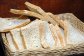 White bread — Stockfoto