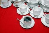 Cup of black coffee — Foto de Stock