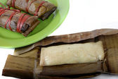 Buras is Indonesian's traditional food — Stock Photo