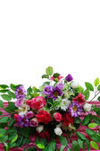 Artificial flower bouquet — Stock Photo