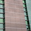 Glass wall on the building — Stock Photo #34108159