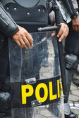Police shield — Stock Photo