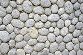 Pebbles wall — Stock Photo