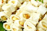Banana bread cake — Stock Photo