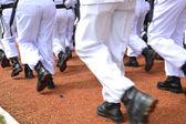Row feet — ストック写真