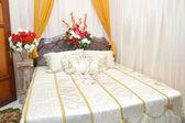 Newlyweds room — Stockfoto