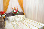 Newlyweds room — Stock Photo