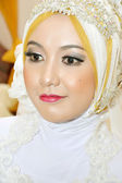 Indonesian bride — Stock Photo