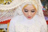 Indonesian bride — Stock Photo