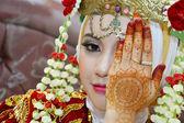Indonesische bruid — Stockfoto