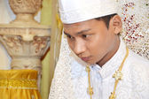 Indonesian's groom — Stock Photo