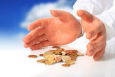 Deposit insurance. — Stock Photo