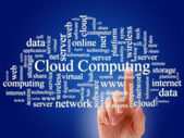 Cloud computing — Stock fotografie