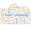 Cloud computing. — Stock Photo
