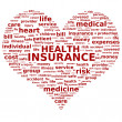 Stock Photo: Health insurance.