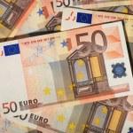 Euro money background. — Stock Photo