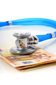 Stethoscope and money. — Stock Photo