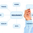 Insurance plan. — Stock Photo