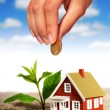 Invest in real estate. - Stockfoto