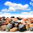 Sea stones. - Stock Photo