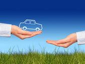 Acquistare auto nuova. — Foto Stock
