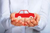 страхование автомобиля. — Стоковое фото