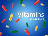 Vitamins. — Stock Photo