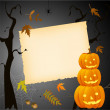 Halloween card with place for your text — Stock Vector #16201521