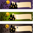 Halloween banners — Stock Vector #16201533