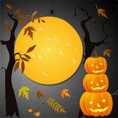 Halloween card — Vecteur